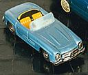 1956 Sparsam Blechauto Friction Vintage Sedan Mit Verpackung Mercedes Benz